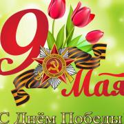 Концертное мероприятие, посвященное Дню Победы от МБУ «ЦСО Октябрьского района»