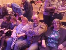 Посещение Красноярской Филармонии концерт Клары Полухиной «Я лечу над Россией»