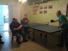 Мастер-класс по настольному теннису от Виктора Разина